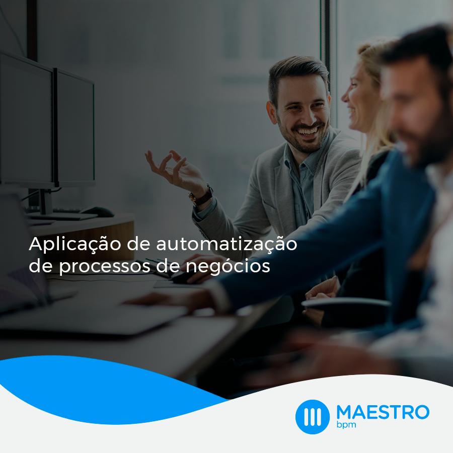 Aplicação de automatização de processos de negócios