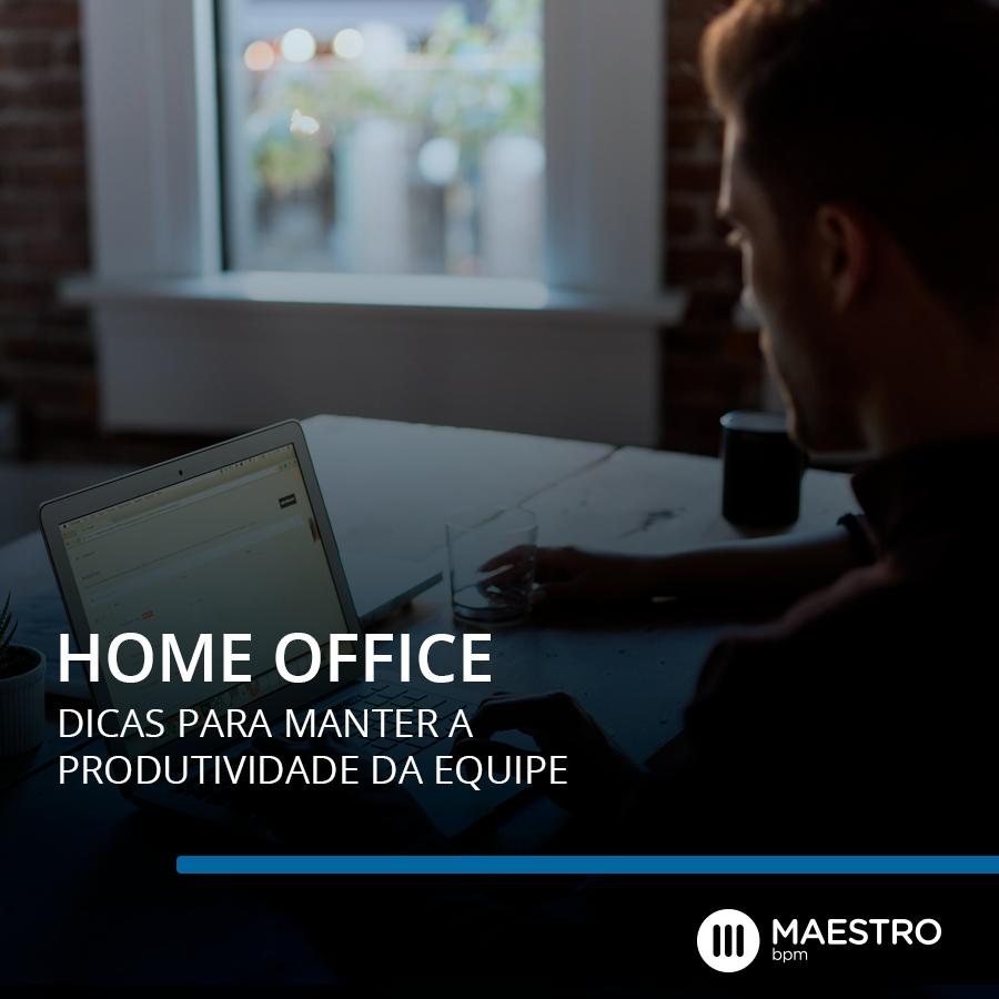 5 Dicas para você manter a produtividade no home office